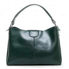 Женская сумочка кросс-боди кожа Alex Rai 1383 green