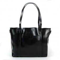 Женская сумка кожа практичная Alex Rai 1535 black