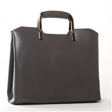 Женская сумка натуральная кожа ALEX RAI 1540 grey