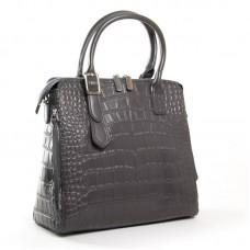 Женская сумка натуральная кожа ALEX RAI 1543 grey