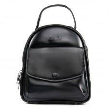 Кожаный женский рюкзак Alex Rai №2229-220 black