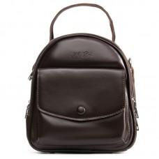 Кожаный рюкзак Alex Rai №2229-220 brown