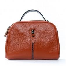 Женский кожаный клатч Alex Rai №2906-6 brown