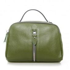 Женский кожаный клатч Alex Rai №2906-8 Зелёный