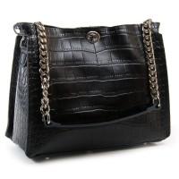 Женская сумка из кожи ALEX RAI 3202 black