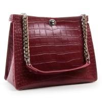 Женская сумка из натуральной кожи ALEX RAI 3202 light-red