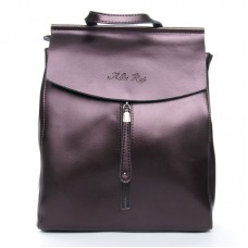 Рюкзак женский натуральная кожа Alex Rai №3206 bright-brown