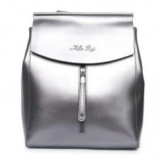 Женский рюкзак натуральная кожа Alex Rai №3206 bright-grey