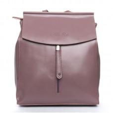 Рюкзак женский из натуральной кожи Alex Rai №3206 purple