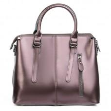 Кожаная женская сумка Alex Rai №330 brown
