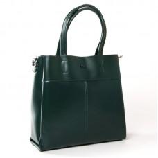 Женская кожаная сумка ALEX RAI 371 green