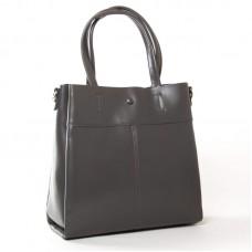 Женская сумка кожаная ALEX RAI 371 grey