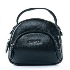 Клатч женский кожаный Alex Rai №3901-1 black