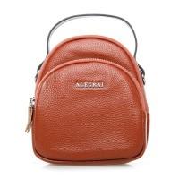Клатч женский кожаный Alex Rai №3905-6 Рыжий