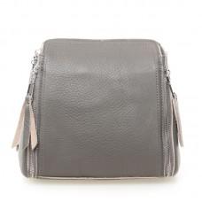 Женская сумка кожа Alex Rai №7107 Серый