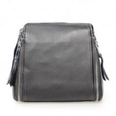 Женская сумка из кожи Alex Rai №7107 Серебро