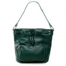 Женская сумка натуральная кожа Alex Rai №7110 Зелёный