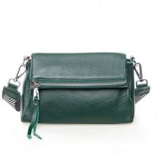 Женская сумка кожаная Alex Rai №7114 Зелёный