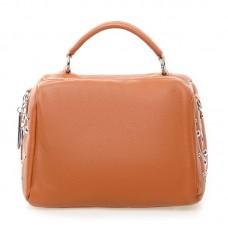 Женская сумка из натуральной кожи Alex Rai №7118 Рыжий
