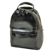 Рюкзак женский кожаный Alex Rai №8045 black