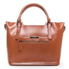 Больша женская сумка кожаная Alex Rai 8222 khaki