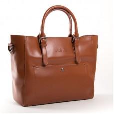 Женская сумка из натуральной кожи ALEX RAI 8223 yellowish-brown