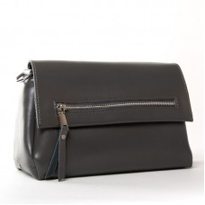 Женская сумка из натуральной кожи ALEX RAI 83112 dark-grey