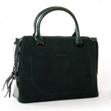 Женская сумка из замши и кожи ALEX RAI 8542-1 green