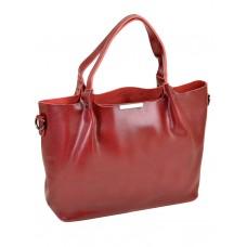 Сумка женская натуральная кожа Alex Rai №8622 pearl-wine-red