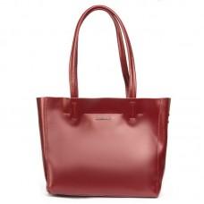 Женская сумка натуральная кожа Alex Rai №8630 wine-red