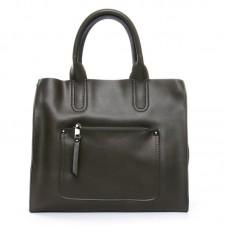 Женская сумка из натуральной кожи Alex Rai №8634-1 green