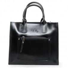 Женская сумка офисная из кожи  Alex Rai 8634 black