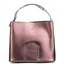 Женская сумка из натуральной кожи Alex Rai №8641 brown