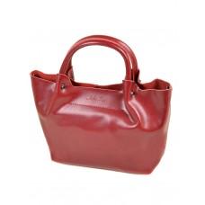 Женская сумка кожа Alex Rai №8649-2 pearl-wine-red