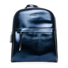 Рюкзак кожаный Alex Rai №8694-2 blue