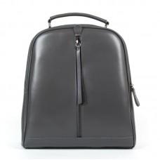 Кожаный женский рюкзак Alex Rai 8694-3 grey
