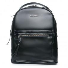 Рюкзак кожаный женский Alex Rai №8695-2 black