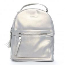 Женский кожаный рюкзак Alex Rai №8695-2 grey