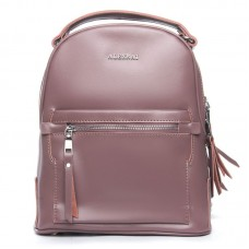 Рюкзак женский кожаный Alex Rai №8695-2 purple
