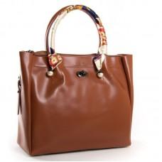 Женская сумка кожаная мягкая ALEX RAI 8696-3 khaki