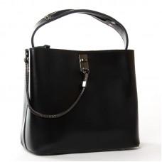 Женская кожаная сумка ALEX RAI 8703 black