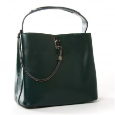 Женская сумка кожаная ALEX RAI 8703 green