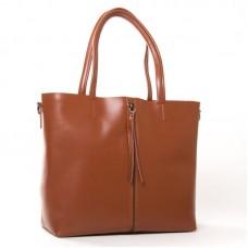 Женская сумка из натуральной кожи ALEX RAI 8704-220 taupe