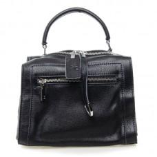 Женская сумка натуральная кожа Alex Rai №8759-9 Черный