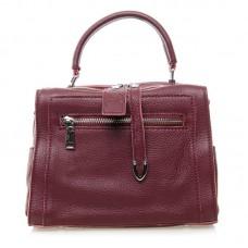 Женская кожаная сумка Alex Rai №8759-9 Бордовый