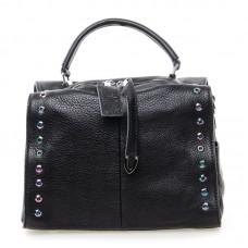 Женская сумка кожаная Alex Rai №8760-9 Черный