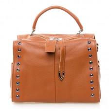 Женская сумка кожа Alex Rai №8760-9 Рыжий