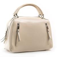 Женская сумка натуральная кожа ALEX RAI 8763 beige