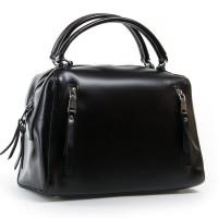 Кожаная женская сумка ALEX RAI 8763 black