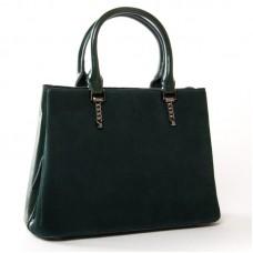 Женская сумка из натуральной замши ALEX RAI 8772 green